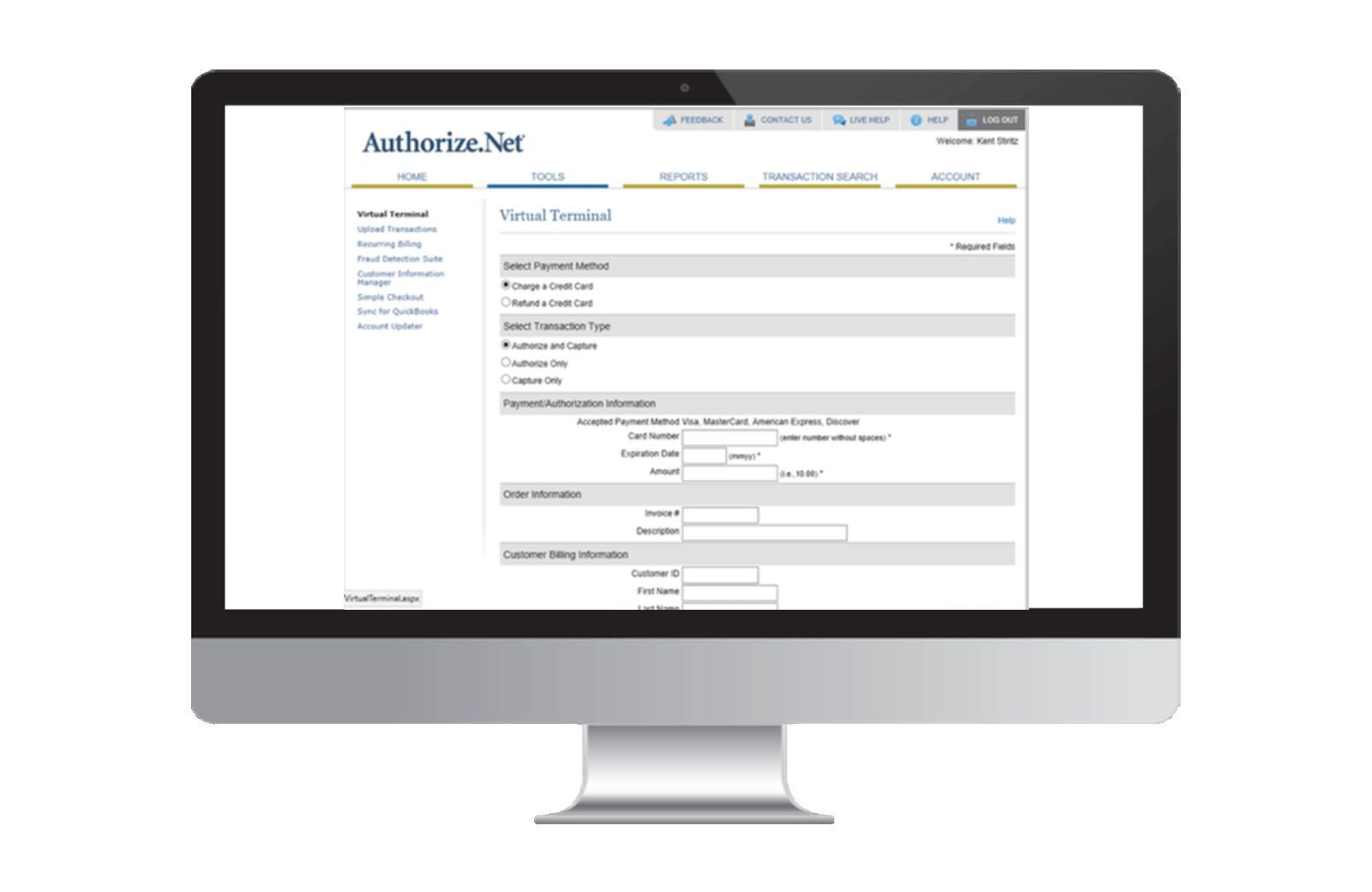 Virtual Payment Terminal